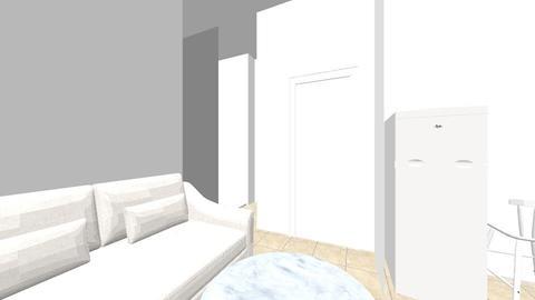 Studio rue Endoume - Living room - by mauracovaci
