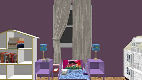 princess aleah bedroom - Feminine - Bedroom - by cutegirldesign
