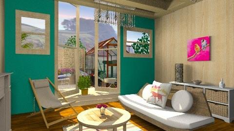 Grandmas shed - Rustic - Garden - by Yoshi Yogataga