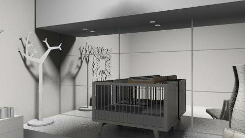 White nursery - Modern - Kids room - by rosiedoll