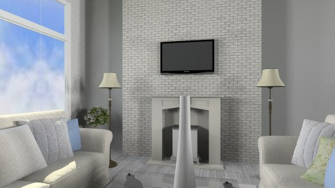 Calm - Living room - by Avatargirl