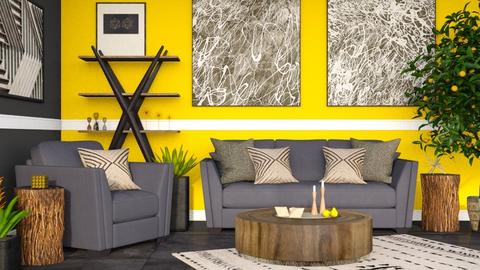 Lemon - Living room - by millerfam