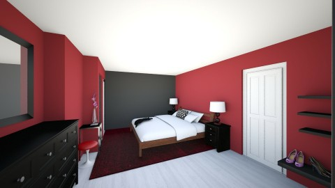 Contest 1 1 Final - Modern - Bedroom - by Jayna1