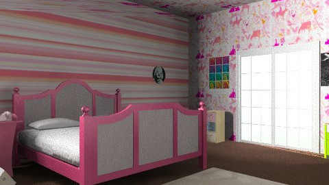 girly - Vintage - Bedroom - by prettygurlmya