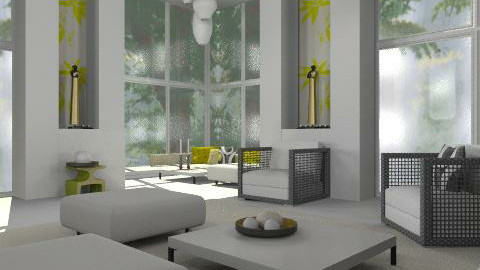 Easy living_1 - Modern - Living room - by lilica