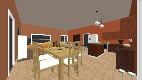 justins kitchen  - Kitchen - by KobeRobillard