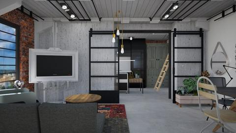 Loft apartment - Modern - Living room - by augustmoon