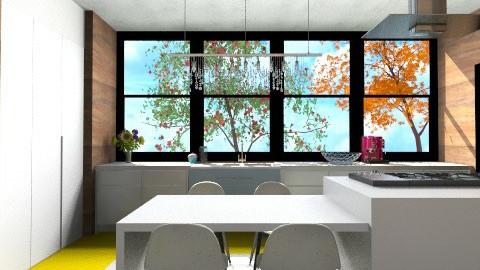 YelloWood Kitchen - Modern - Kitchen - by 3rdfloor