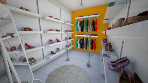 Closet Nika - Modern - by RainbowSmoothie