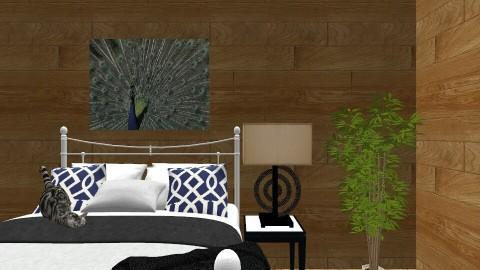 Peacock - Modern - Bedroom - by Snowella11