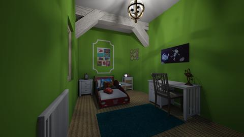 BEDROOM - Classic - Kids room - by NACER92