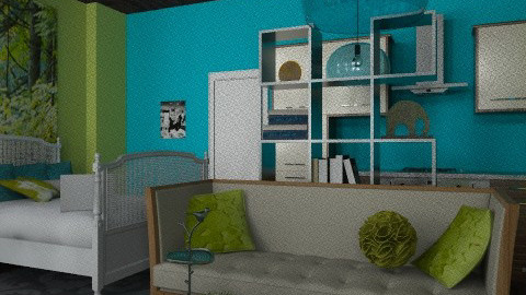indoor out apartment - Rustic - by codyg