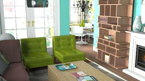 Living room 3 - Living room - by Alyssa Turner