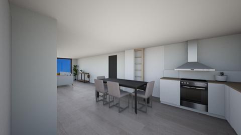 deur tegen over lekaar - Living room - by Mthe