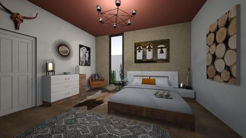 south western vibes - Rustic - Bedroom - by katsumi1016