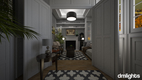colonial lounge - Classic - Living room - by DMLights-user-982918
