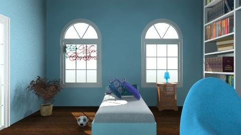 Blue - Modern - Kids room - by Klaudia Zajdel