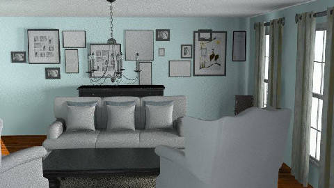 Duck Egg - Living room - by kiwiwalnut