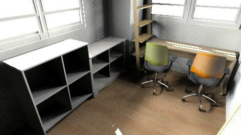office - Minimal - Office - by naomikwons