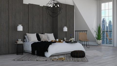 IP Diego - Modern - Bedroom - by NEVERQUITDESIGNIT