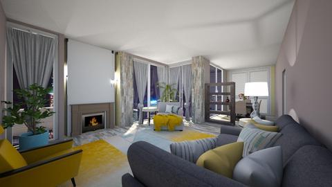 1960 - Living room - by nanabpf