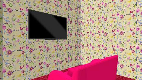 bedroom - by Eva Faust