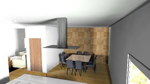 Sala de Jantar V3 - Classic - Kitchen - by SuperRigoni
