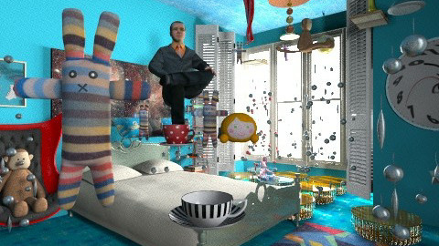 Little Astronaut Bedroom - Modern - Bedroom - by Trimble Official