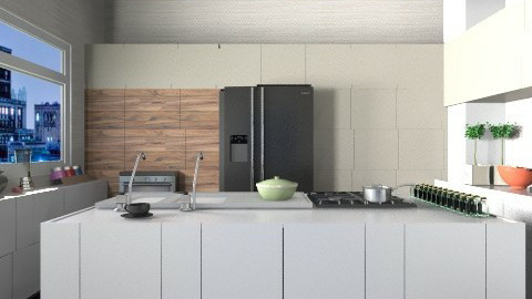 Kitchen - by Lucas Nappo