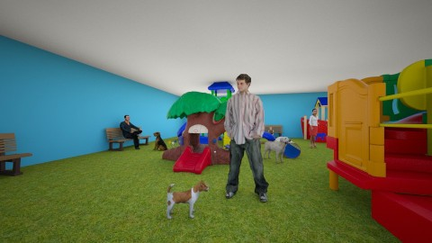 Park para pets - Classic - Garden - by Anna Sol