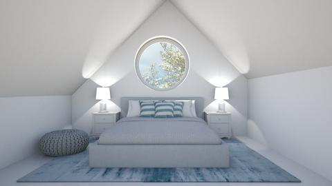 Secret Attic Bedroom - Classic - Bedroom - by Volleyball2018