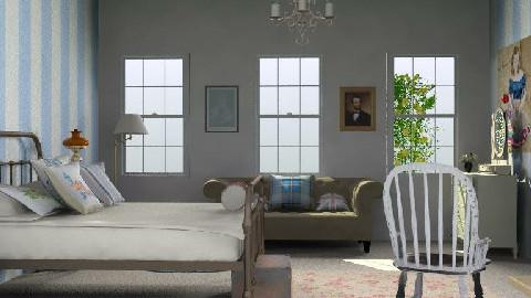 EnglishInspired - Country - Bedroom - by yasemin04