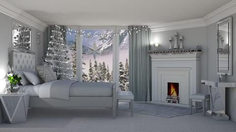 Winter Bedroom - by creato