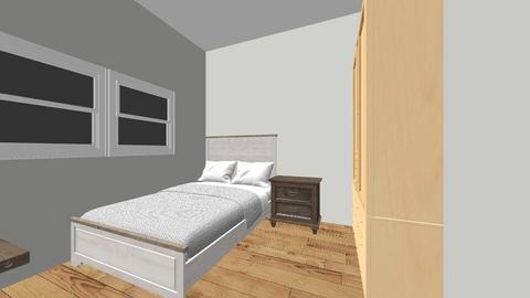 Planta Alta - Bedroom - by Andrea castilla