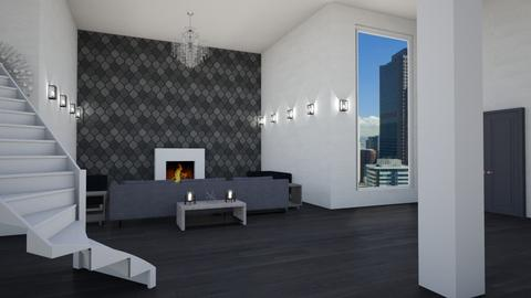 Modern Luxury Column  - Modern - Living room - by stokeshannah
