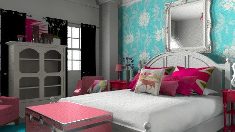 beach - Glamour - Bedroom - by sarahl