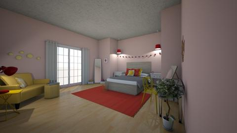 Playful Bedroom - Bedroom - by starkey77