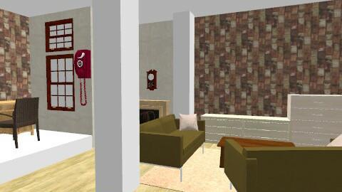 oph - Retro - Bathroom - by valentina1