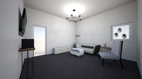 Sleek room - Living room - by iZZ Six