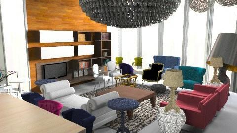 wunder land  - Glamour - Living room - by austinajk