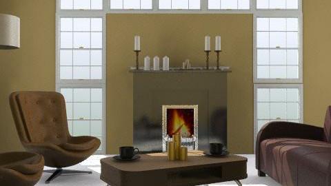 minimal retro - Retro - Living room - by designerv