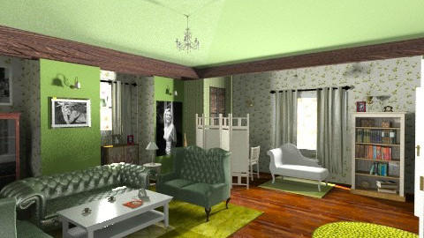 Back to 1950 - Classic - Living room - by sricha