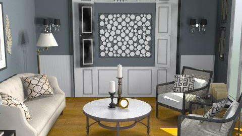 sitting room - Glamour - by crystal aston