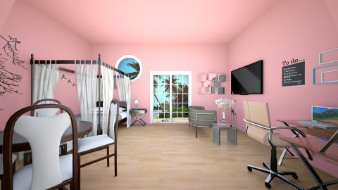 Sarahi Dream Room  - Bedroom - by Fandom Girl Santana