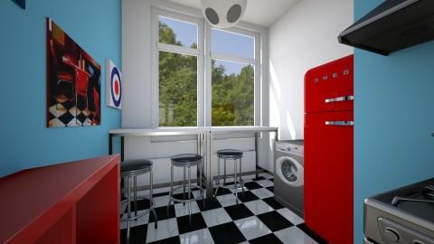 Spinnekop Kitchen - Retro - Kitchen - by shaihulud