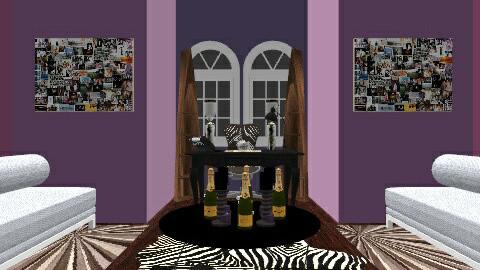 Purples Glamerous Power - Retro - Office - by Antonio Edmond
