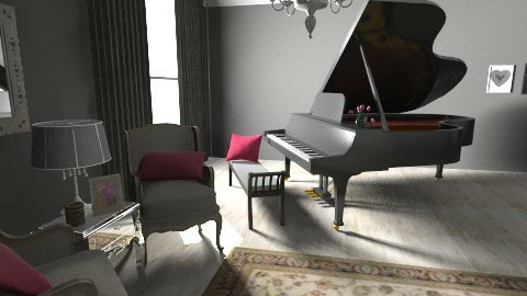 piano room - Classic - by sunlove