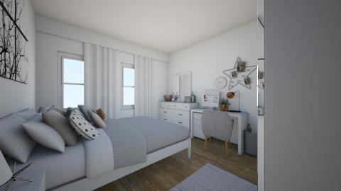 Bedroom - by blodyn