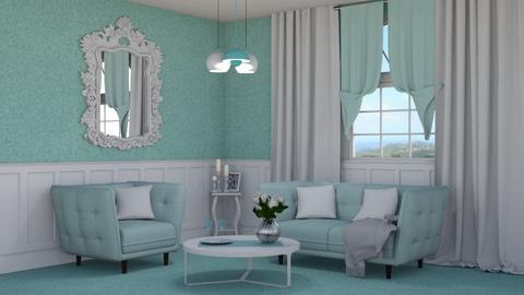 Pastel Spring - Living room - by creato