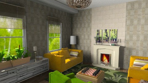 Guest room - Eclectic - Living room - by Anna Rainbow